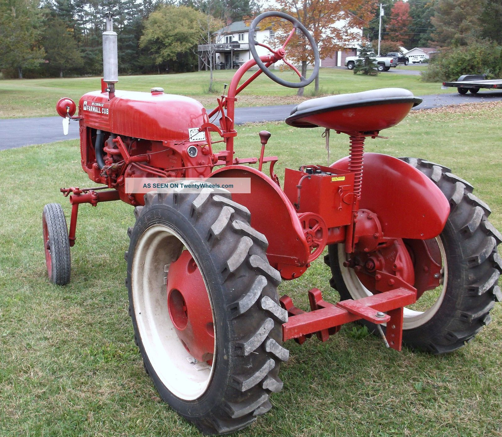 Antique Ih Cub Tractor : Farmall cub antique tractor international haverster