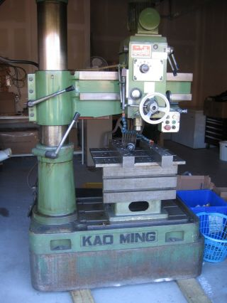 1995 Kao - Ming Kmr 700 Radial Arm Drill,  No Resverve photo
