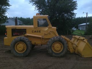 1964 Case W12 Wheel Loader Payloader Skid Loader Bobcat photo