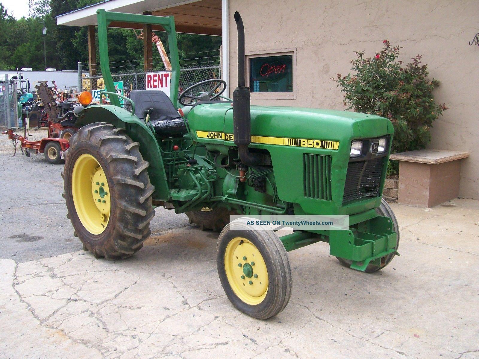 John Deere 850 Diesel Tractor : John deere tractor wd