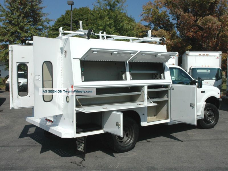2004 ford f450 enclosed utility service truck