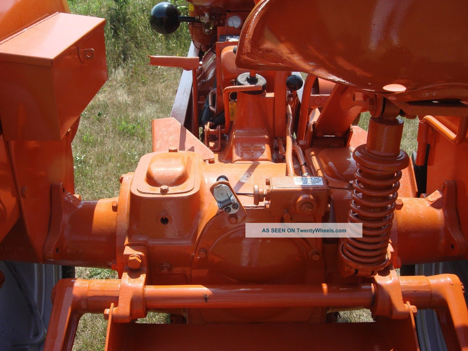 How To Convert A Wd 45 Allis Chalmers Tractor From 6 To 12