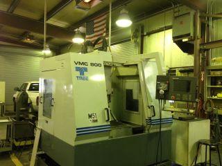 Tree Vmc 800 W/ Pc - 2100 Control Yr.  1999 (video) photo