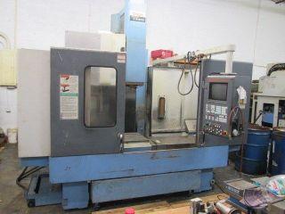 1996 mazak mtv515 40 heavy duty cnc machining center ct50 40x20
