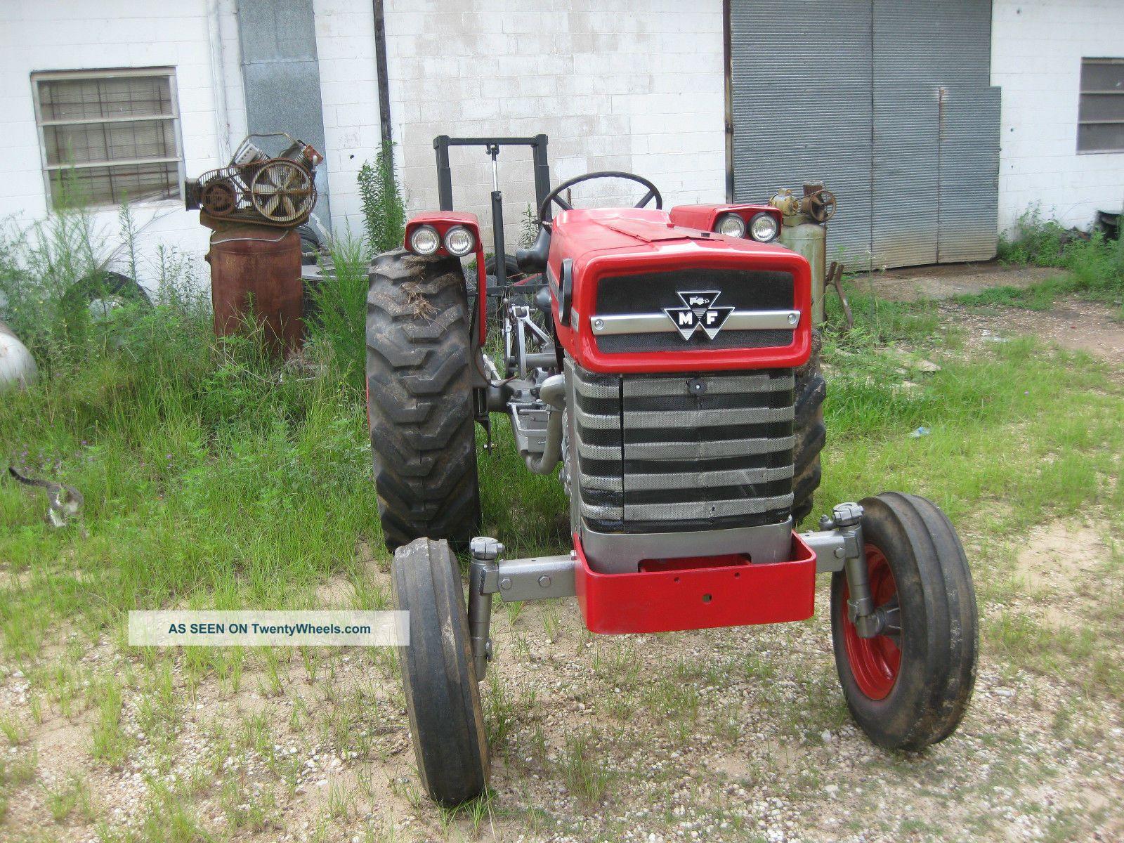 Massey Ferguson 175 Tractor Data : Massey ferguson model year diesel hp
