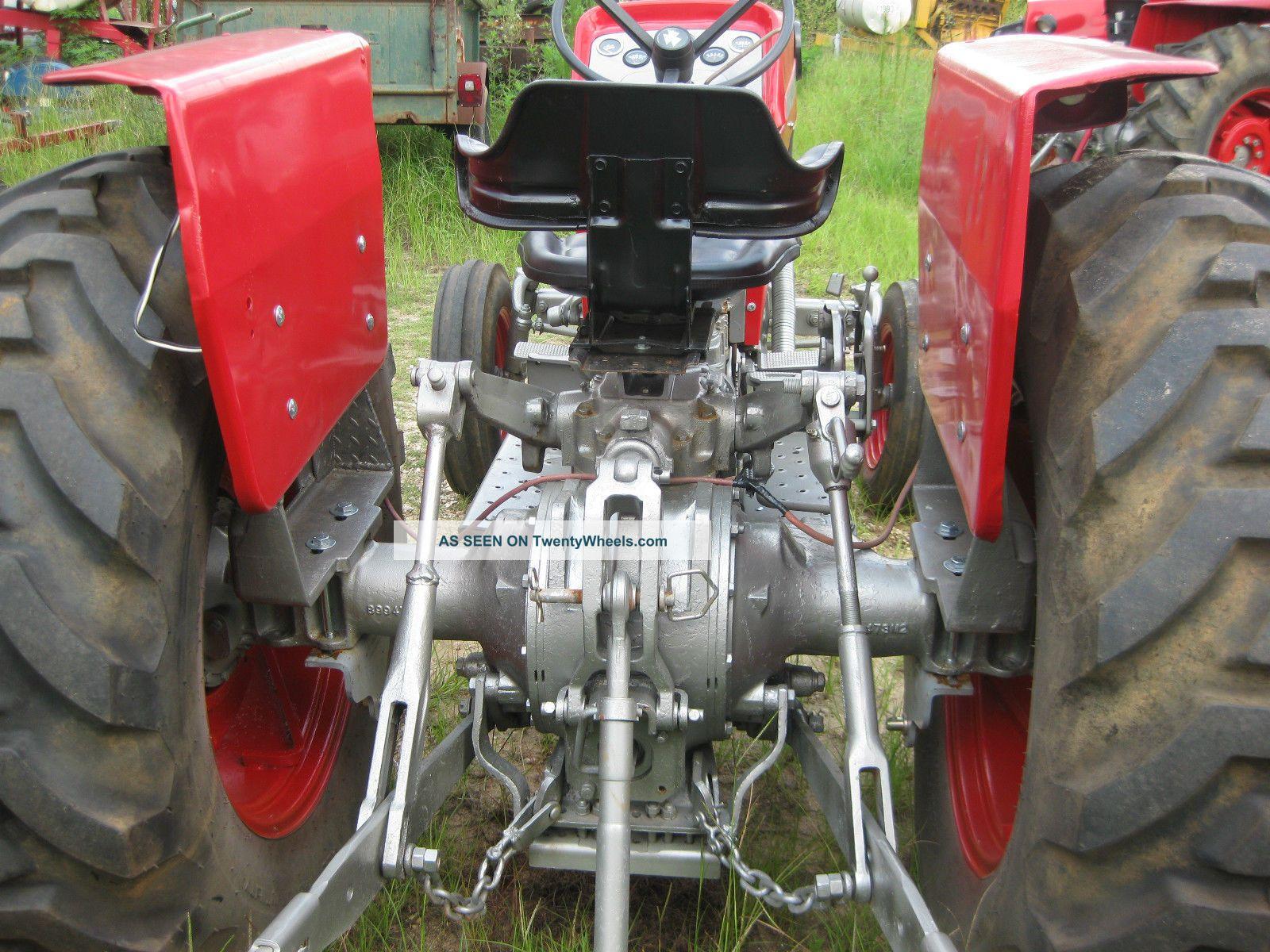 Massey 175 Diesel : Massey ferguson model year diesel hp