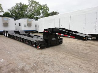 2005 Trail King 55 Ton Tri Axle Detachable Low Boy Trailer Stk Number 08506 photo