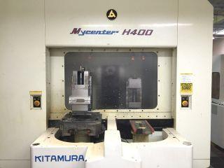 Kitamura Mycenter H - 400 Cnc Horizontal Machining Center Mill Full 4th Axis 1995 photo