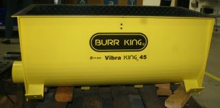 Rebuilt Burr King Vibratory Tub Replacement Tub Only Urethane Lined For M45 photo