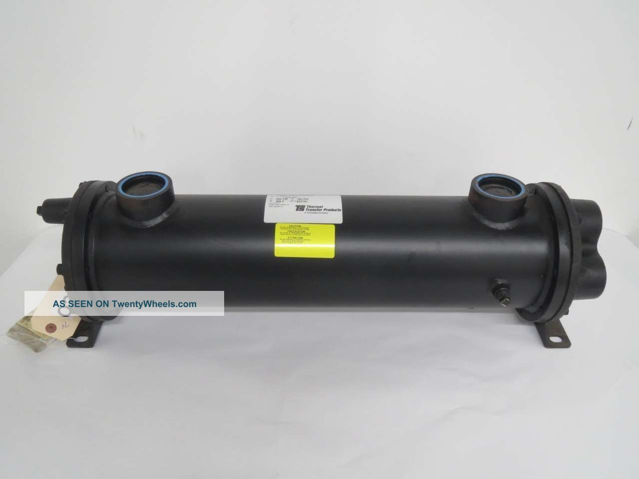 Thermal Transfer C - 1024 - 5 - 6 - F Fluid Heat Exchanger 1 - 1/2 In Npt B442777 Heating & Cooling Equipment photo