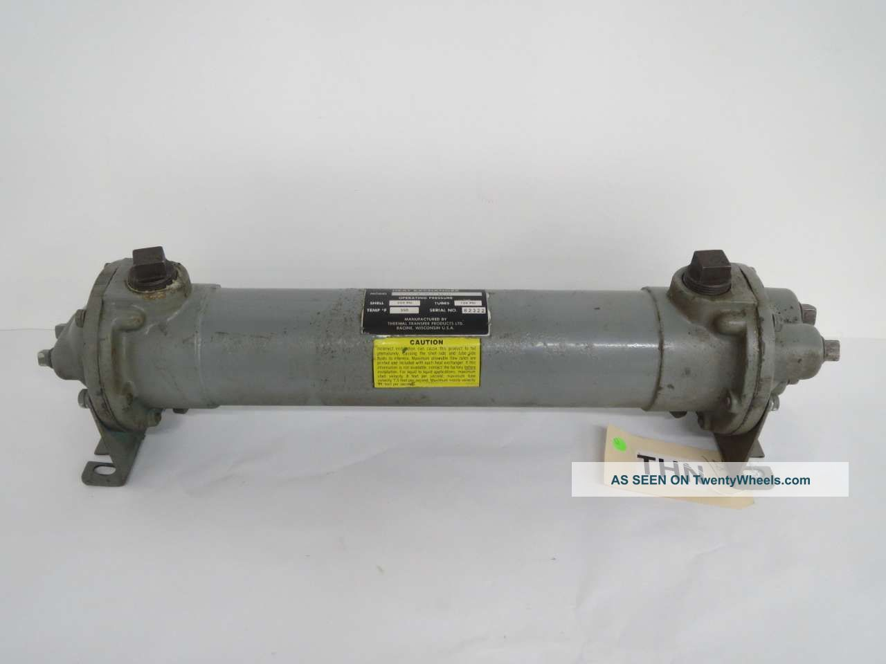 Thermal Transfer B - 702 - A4 - F Npt Fluid Heat Exchanger 1 In B455978 Heating & Cooling Equipment photo