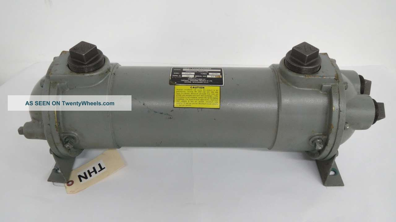 Thermal Transfer B - 1202 - A4 - F Four Pass Fluid Heat Exchanger 2 In B456353 Heating & Cooling Equipment photo