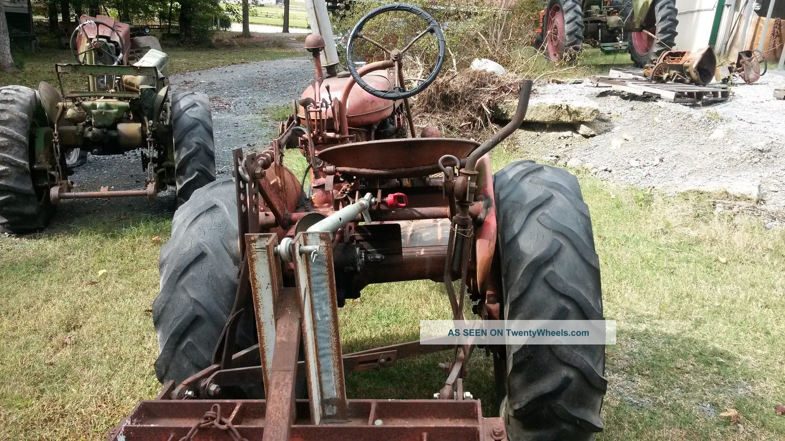 Tractor 3 Pt Lift : Farmall a tractor with point lift