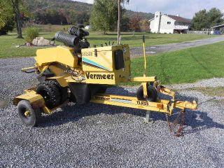 2005 Vermeer Sc252 Self Propelled Stump Grinder Kohler 27hp With Trailer Rayco photo