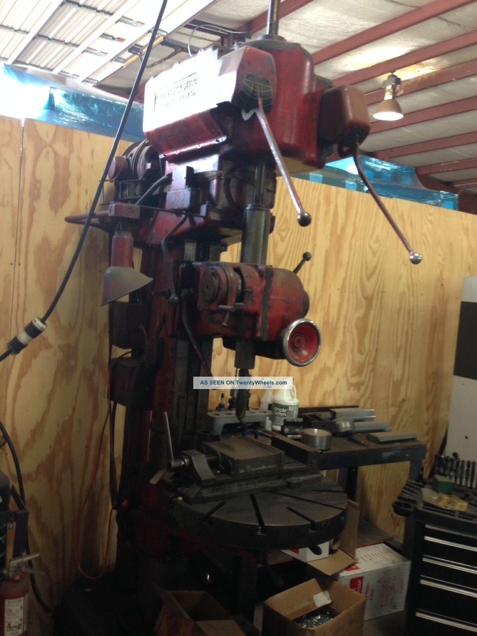 Fosdick Machine Tool Company Drill Press Drilling & Tapping Machines photo
