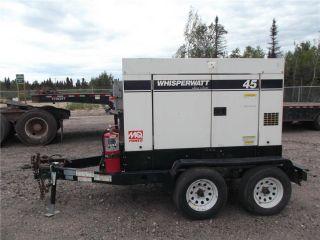 2007 Multiquip 45usi Ultra Silent Towable Generator - Diesel photo