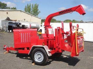 2005 Woodchuck Hyroller 1200 Wood Chipper 874 Hrs Caterpillar Diesel 00382 photo