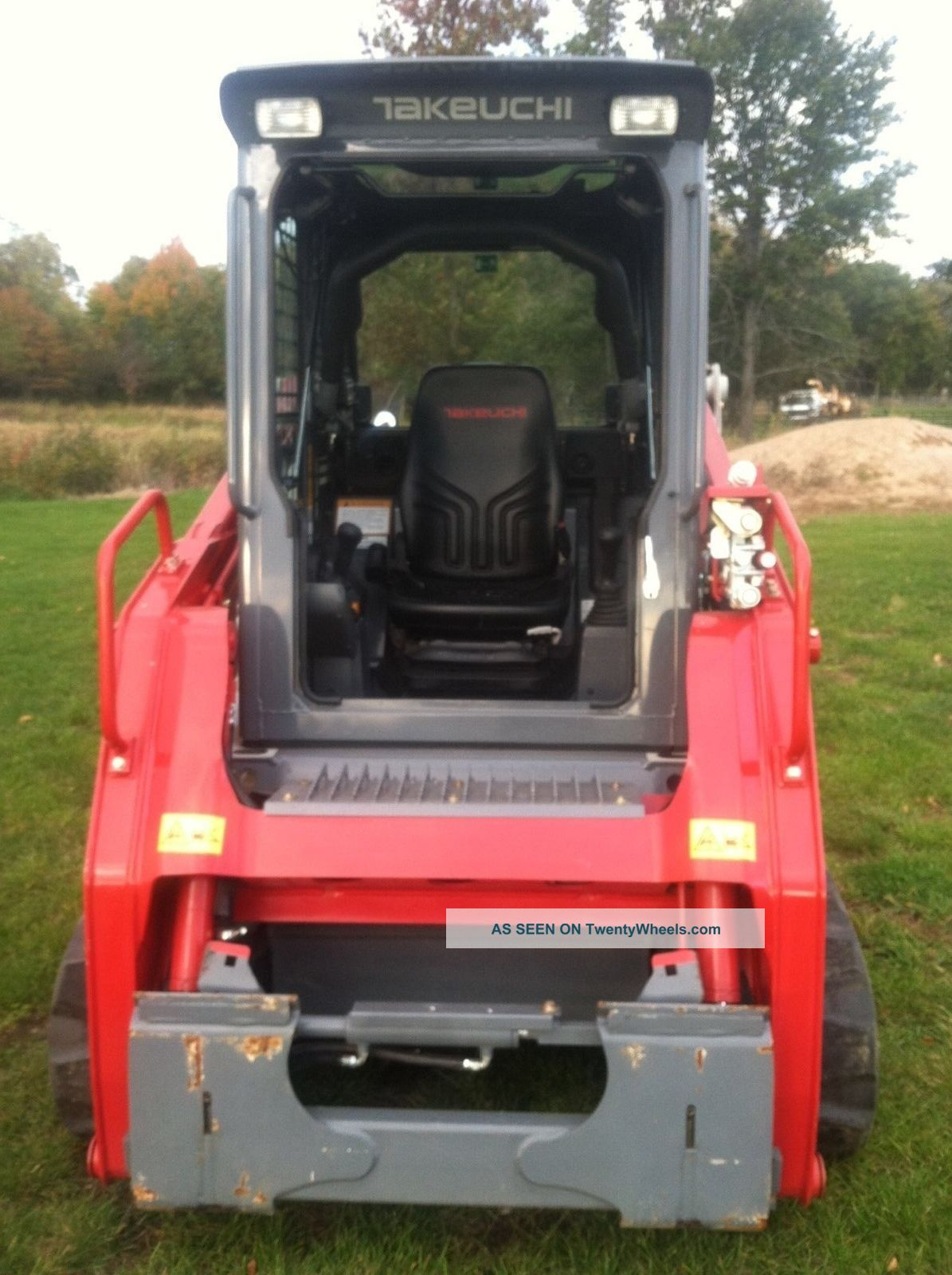 2014 Takeuchi Tl8 Skid Steer Only 19 7 Hours Ac Heat Cab
