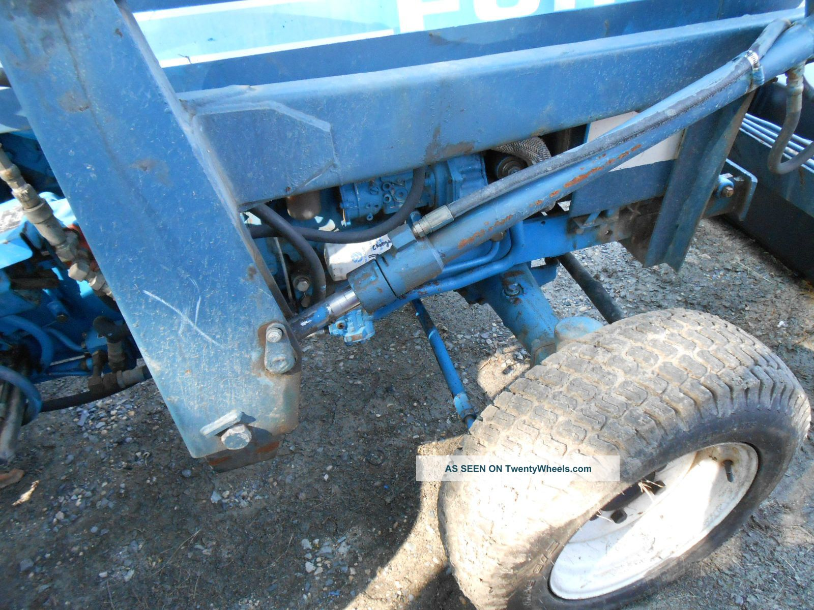 Ford Tractor Loader Wd Lgw