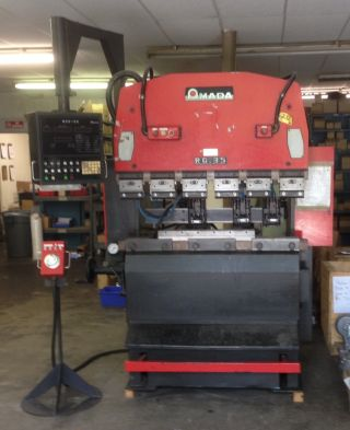 1988 Amada Rg - 35s Cnc Brake Press W/nc9 - Exii Gauging System photo