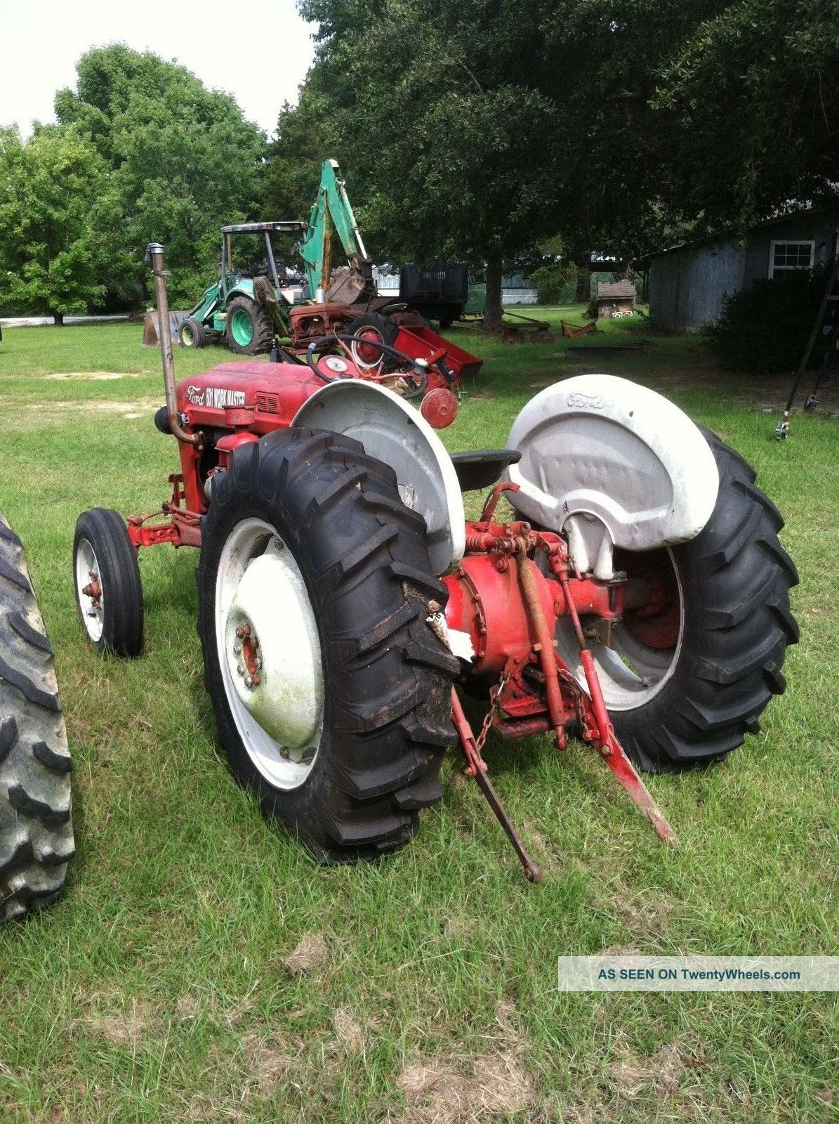 601 Ford Tractor Diesel : Ford diesel tractor point lift with live pto
