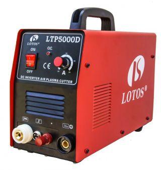 Lotos Ltp5000d 50a Dual Voltage 110/220 V Pilot Arc Plasma Cutter photo