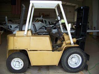 Clark 6000 Lb Diesel Forklift photo