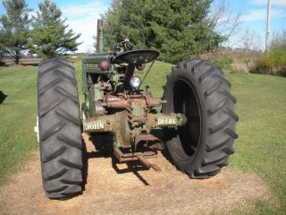 1947 John Deere A Tractor photo
