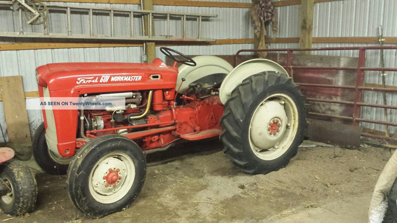 Ford 601 Workmaster Tractor : Ford workmaster tractor