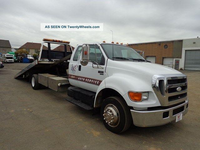 2006 ford f650 xlt pro loader rollback tow truck cat diesel. Black Bedroom Furniture Sets. Home Design Ideas
