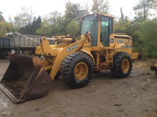 2000 John Deere 624h Wheel Loader,  W/a/c,  Less Then 8,  000 Hours photo