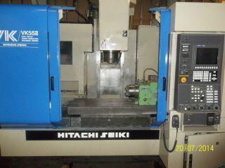 Hitachi Seiki Vk55ii Vertical Machining Cente photo