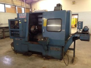 Shoun Machine Tool Dynastar 450 Cnc Turning Center Yuasa Fanuc 6t System photo