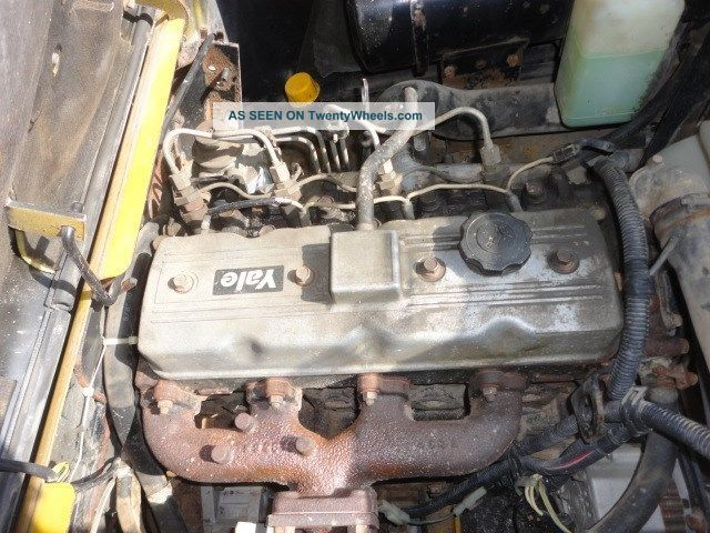Yale Diesel 6000lb 190 Quot Sideshift Fork Positioners