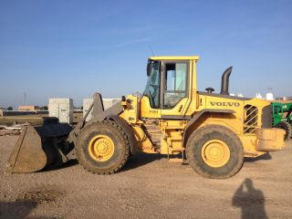 2009 Volvo L90f Wheel Loader; Quick - Coupler; 7090 Hrs photo