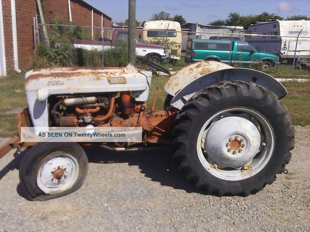 Ford Tractor 800 Series Specifications : Ford n tractor sheet metal body parts autos post