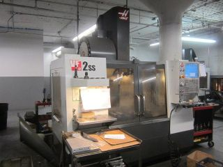 Haas Vf - 2ss Cnc Machining Center 4thaxis Pre - Wire Usb Port photo
