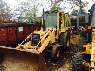 Ford 555b Backhoe Loader photo