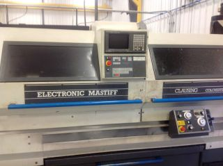 Clausing Colchester Electronic Mastiff Cnc Tech Lathe photo