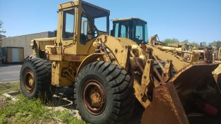 Caterpillar 966c Payloader photo