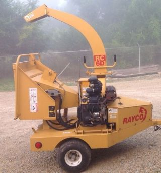 Wood Chipper 2005 Rayco Rc6d 300 Hours photo