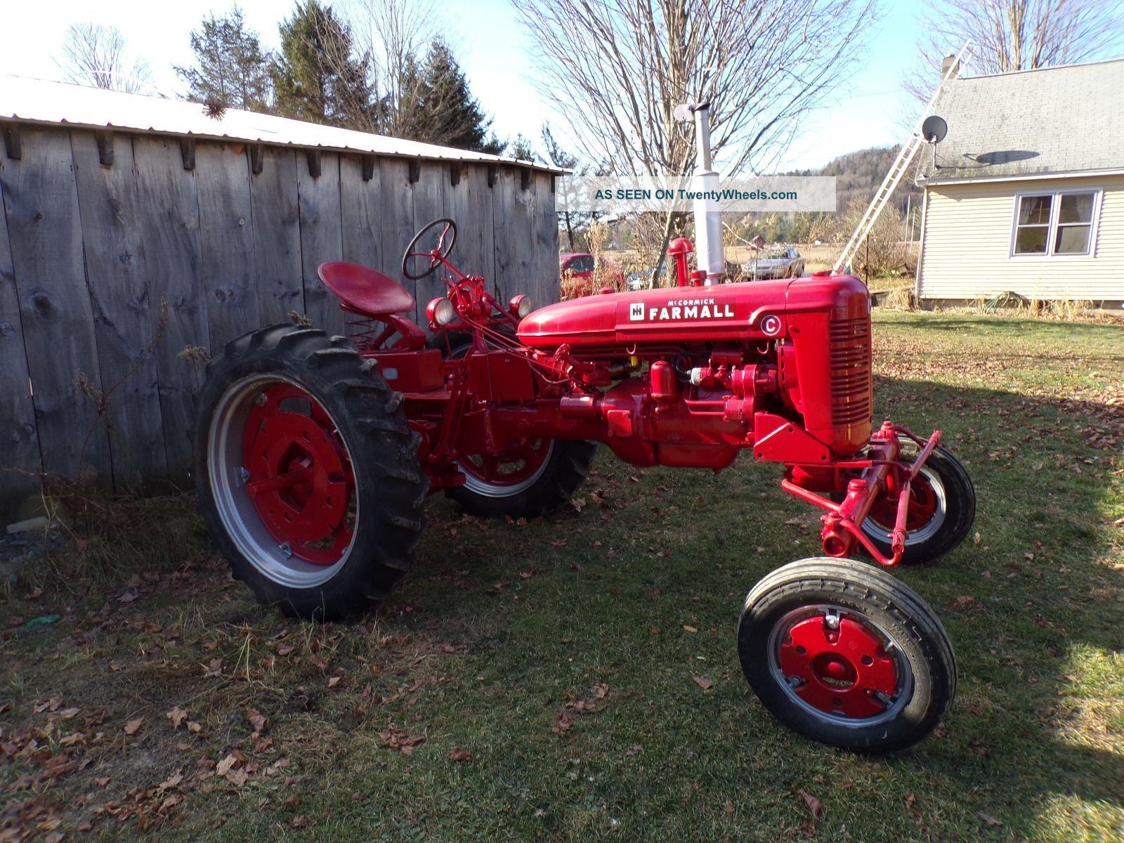 Farmall C Tractor : Farmall c tractor
