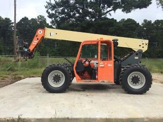 2006 Jlg G6 - 42a Telescopic Forklift: Tires,  Rotating Carriage, photo