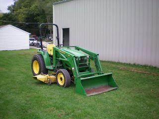 John Deere 4300 Compact Tractor photo
