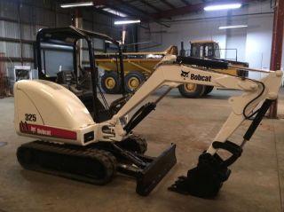 2007 Bobcat 325g Mini - Excavator,  Dozier Blade,  Construction Heavy Equipment photo