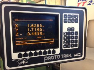 Chevalier Fm - 3vkh Vertical Mill With Southwest Industries Mx 2 Cnc Control photo