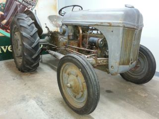 Ford 9n Tractor (ex - 4 Prototype Tractor) photo