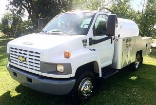 Chevy Kodiak Septic Sewer Vacuum Vac Vacuum Jetter Pump Pumper Tank Truck photo