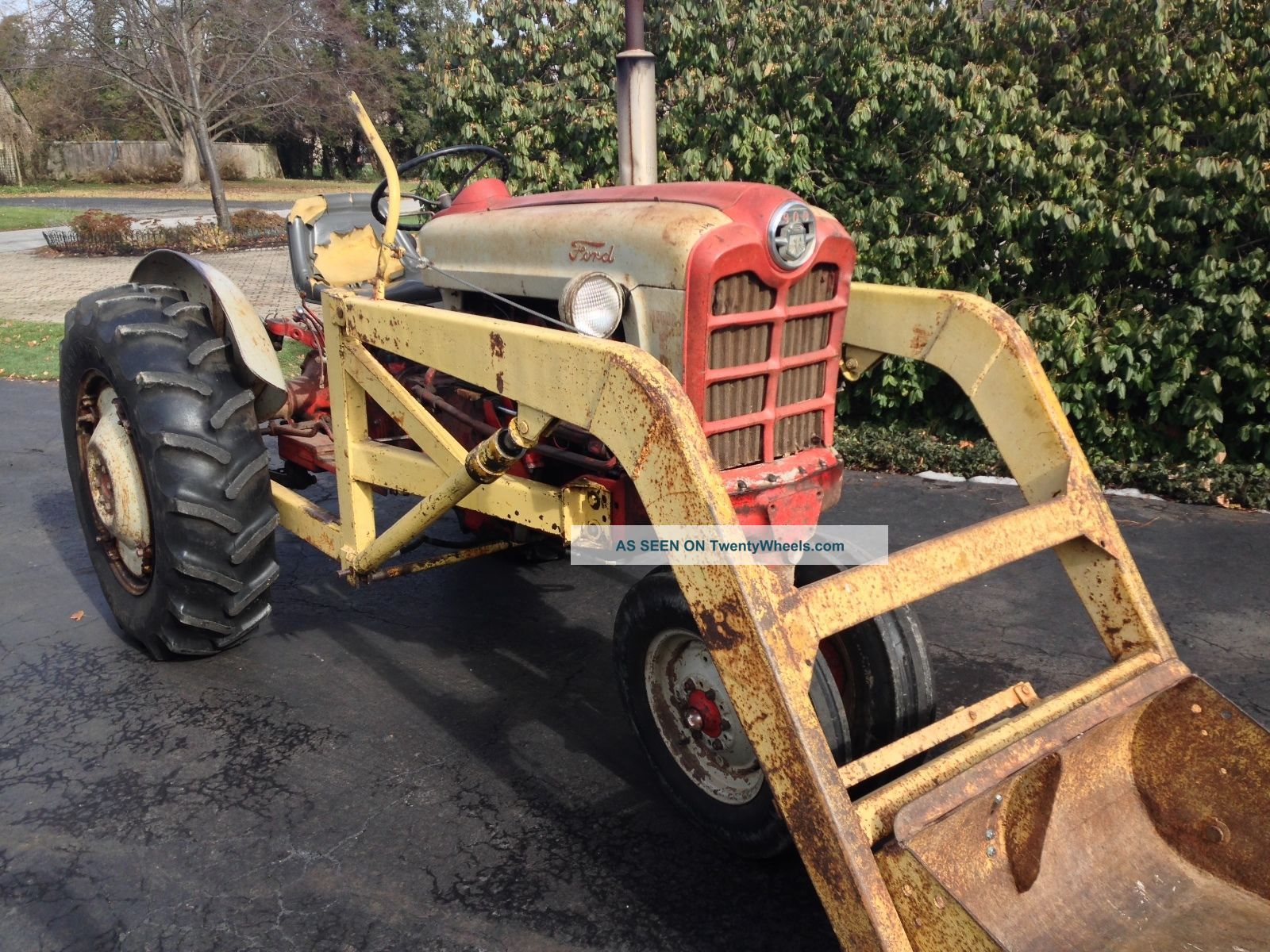 Ford Row Crop Tractors : Ford row crop tractor with point and pto