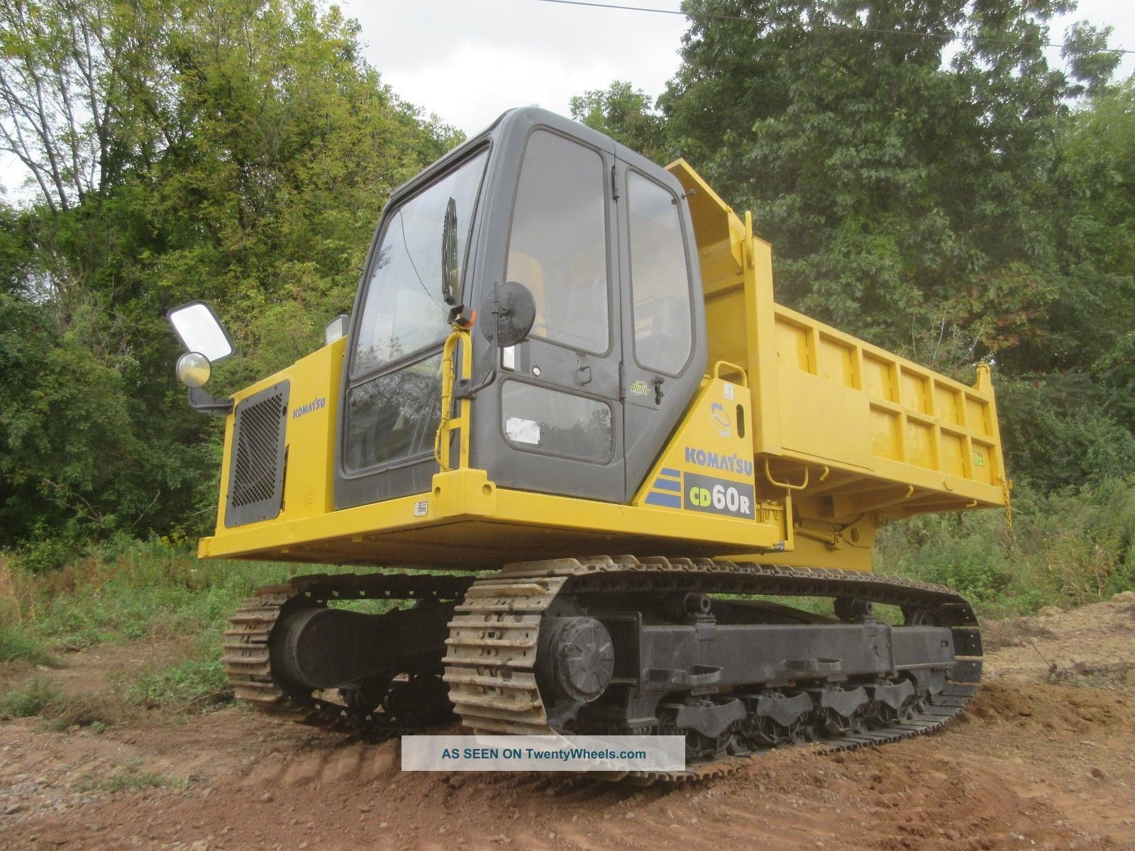 Komatsu Cd60r Track Dump Truck13200 Lb Capacity,  Steel Tracks,  360 Degree Rotate Other photo
